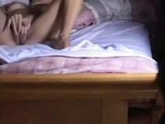 I sneakily captured my best friend masturbating in her bedroom. i so want to fuck her !!!