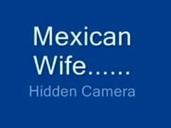 Voyeur husband tapes his mexican wife riding his cock in the bedroom