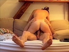 Me and my wife homemade sex