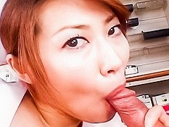 Amazing Japanese chick in Hottest JAV uncensored Blowjob clip