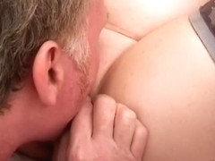 Aged woman acquires licked and screwed