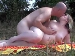 Part three of me fucking my wife outdoors