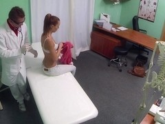 Gina in Patient returns craving the doctors cock cure - FakeHospital