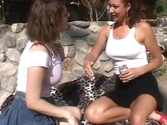 Kayla Quinn and Vanessa Videl in Trailer trash moms 2 scene 3