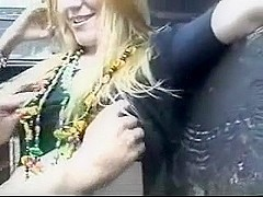 Party gal fucked in public