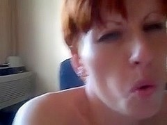 Wife watches hubby fuck her ally in the wazoo