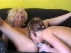 Wife with young Lesbian