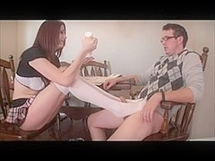 sperm all over my sexy feet 5