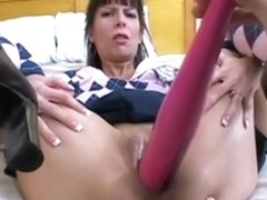 She receives a good anal drilling