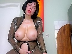 Latex Twat Be my twat take up with the tongue villein your goo belongs to me
