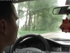 Jackie Tiefenbacher in Couple Fucking In Their Car - FunMovies