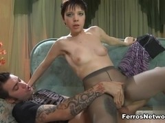 PantyhoseTales Clip: Helena A and Marcus