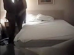 Wife on phone with hubby before cuckolding