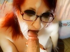 czech cumslut receives next facial
