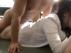 Very sexy office milf fucks with one impressive dude