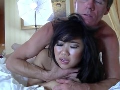 18yo asian chick gets fucked 2