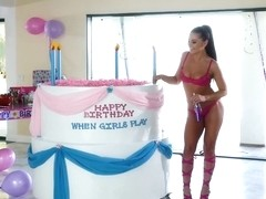 Adriana Chechik & Valentina Nappi in When Girls Play Birthday!