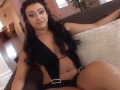 Brunette Ricci Has Ass Throughly Fucked