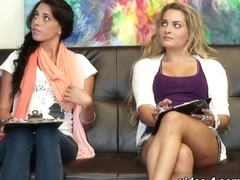 Casting Couch-X Video: Two hot girls