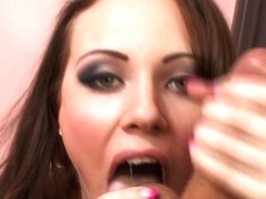 Sara does blowjob in real high definition porn video