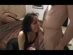 mature mistress facesitting her boytoy