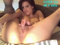Latina takes thick cock in her ass