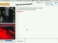 Jerking off on omegle chat