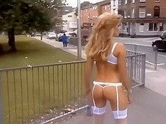 Walking naked in the streets