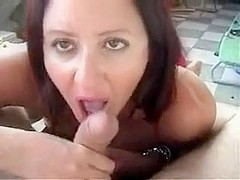 Sexy black brown licks and copulates big strapon