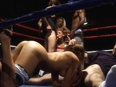 Cocksmokers show their skills in the ring