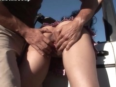 Romana in Amateur Facial Outdoor - FunMovies