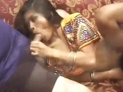 Indian Doxy Catita Stuffed From The One And The Other Ends