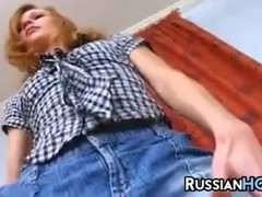 Russian Slut Getting Her Pussy Licked
