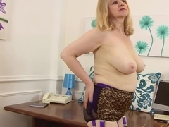 Fabulous pornstar in Best Masturbation, Mature adult movie
