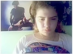 Omegle Young hairy lesbian