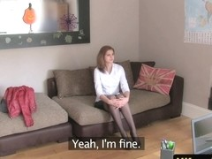 Stockinged english amateur in sexaudition