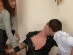 Bisex hunk gets fucked