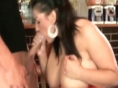 Blonde gal with large tits screams loud during sex