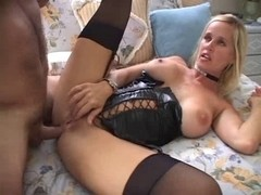 Mother I'd Like To Fuck Tabitha analized in awsome outfit