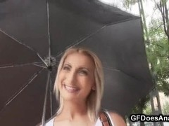 Fucking Lesson for Horny and Horny Blonde