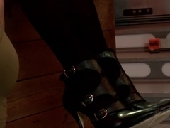 Incredible fetish, lesbian porn scene with horny pornstars Cherry Torn and Lorelei Lee from Footworship