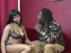 Best pornstar Suga Brown in exotic brazilian, facial sex clip