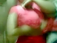 Indian immature Huge Boobs Playing