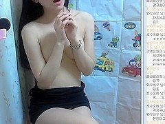Korean girl super cute and perfect body show Webcam Vol.03