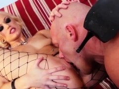Ash Hollywood has sex with her slave man