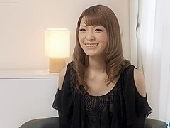 Yuria teases during her first Japanese porn casting