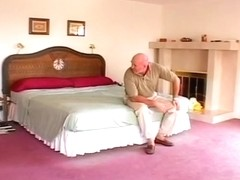 A Sweet Teen Gets Some Older Cock