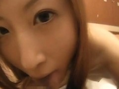 Chihiro Hara Lovely Asian babe gets hard anal sex!