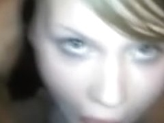 Young blonde suck ans swallow