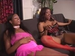 Babes Brandi And Bambi die For Devlin's Sausage